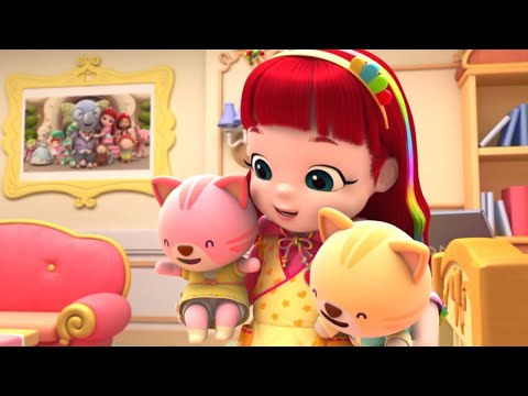 Rainbow Ruby - Babysitter Blues - Full Episode 🌈 Toys and Songs 🎵