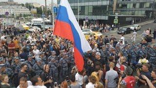 В Москве на акции в поддержку Голунова задержали 400 человек