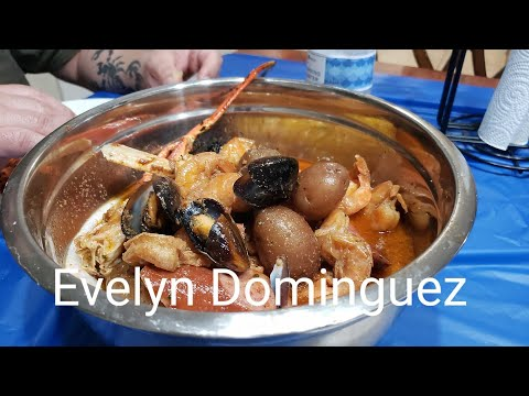 Mariscos al Horno (Sea Food Boil )