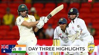 India take control of Test arm wrestle | Australia v India 2021