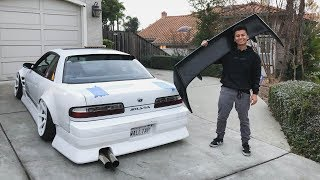 S13 gets a FAT Wing!