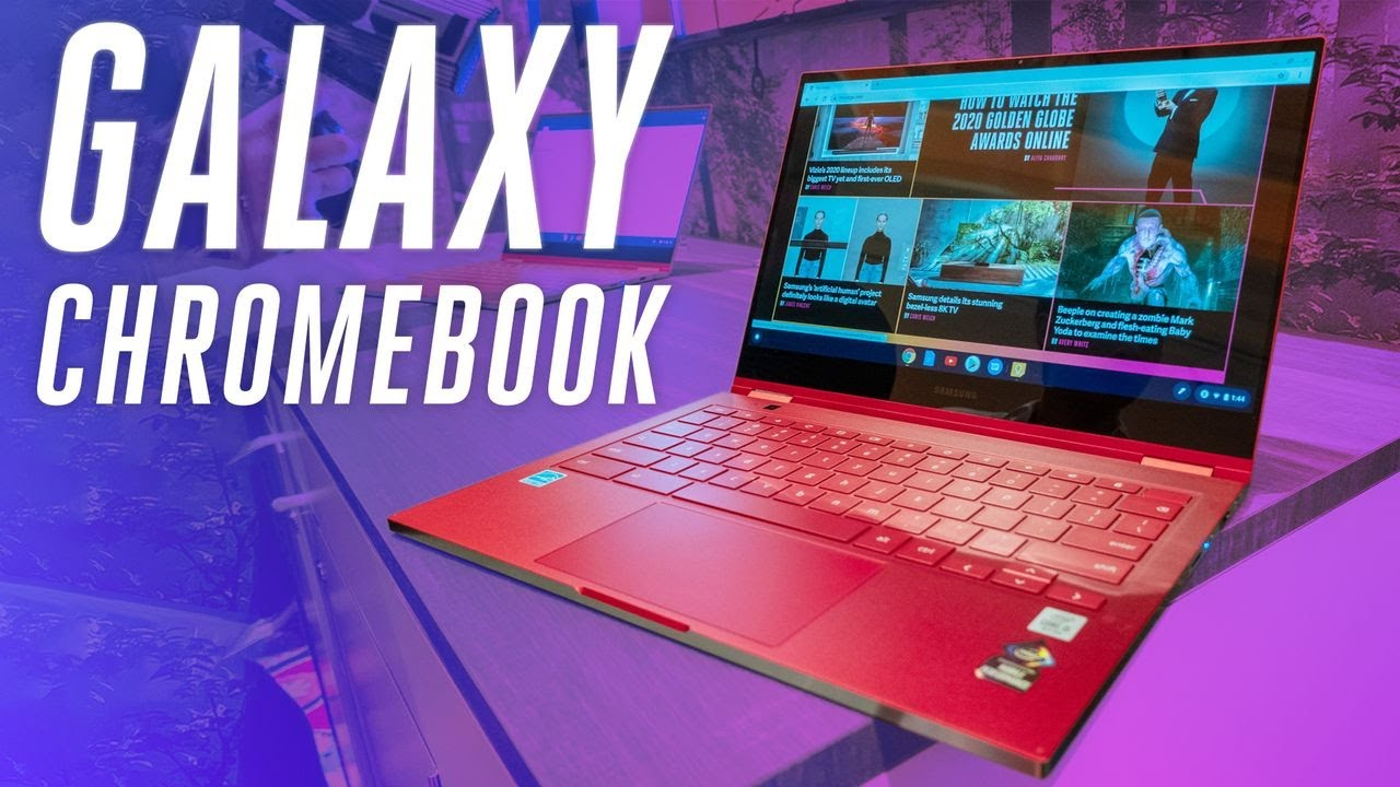 Samsung Galaxy Chromebook hands-on: ultra premium and super red thumbnail