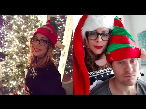 Putting Up Our Christmas Tree! | VLOGMAS