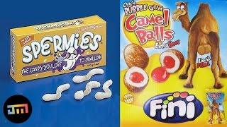 10 obrzydliwych cukierków na Halloween