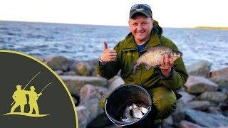 Рыбалка на южной стороне финского залива