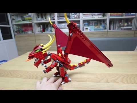 Vidéo LEGO Creator 6751 : Le dragon