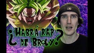 ¿Habrá rap de Dragon ball super Broly?