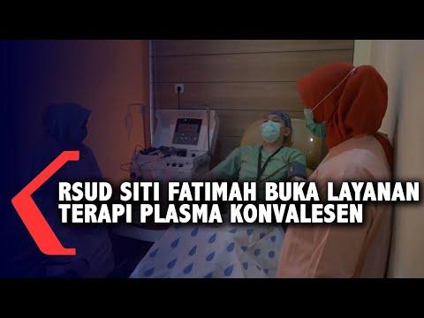 RSUD Siti Fatimah Buka Layanan Terapi Plasma Konvalesen