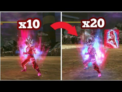 Super Saiyan Blue Kaioken x20 Spirit Bomb Dragon Ball