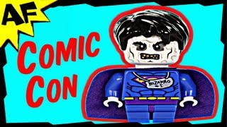 Superman BIZARRO Exclusive Minifigure Lego DC Super Heroes Review