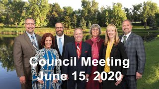 Preview image of City Council Meeting - June 15, 2020