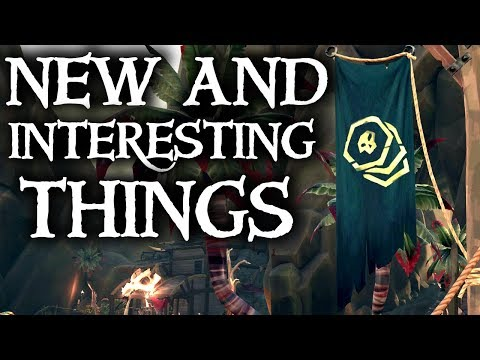 NEW AND INTERESTING THINGS // SEA OF THIEVES - Hints to new updates features!