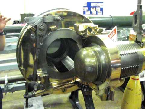 1889 naval gun breech triple motion interrupted parallel screw