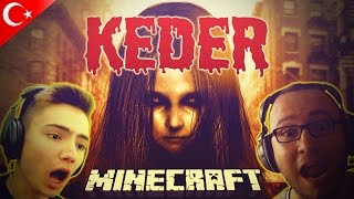 Gambar cover KEDER (The Grief) - Minecraft Korku Haritası - w/ kWhane Gaming