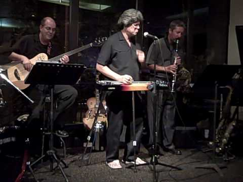 Greg Sardinha with the Troy Millard jazz Quartet