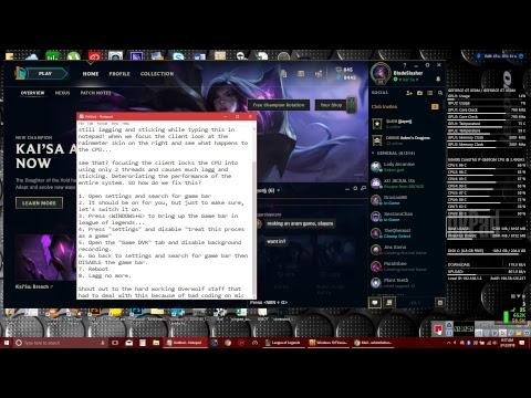Download League Of Legends Client Performance Fix Video 3GP Mp4 FLV