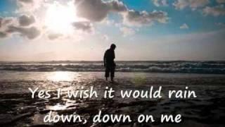 I Wish It Would Rain Down ( With Lyrics )    Phil Collins
