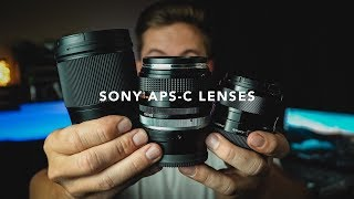 Which LENS should you buy for your SONY CAMERA?