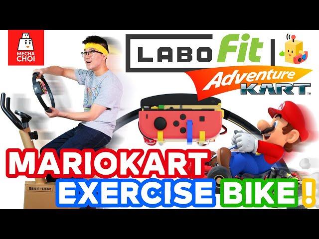 Изобретатель Майк Чоу построил фитнес-аппарат для игры в Mario Kart
