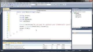 Visual C# 2010 Tutorial 23 - Boolean