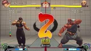 Gaz Desu (Guy) Vs Bullcat (Gouken) - AE 2012 Matches *1080p*