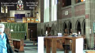 St Andrew's Parish Eucharist – Sunday 29th August 2021 – 'Trinity 13'