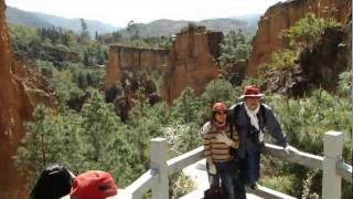 preview picture of video 'Colorful Sand Forest part 5 彩色沙林-山洞王 day 3 - 11 ( Yunnan )'
