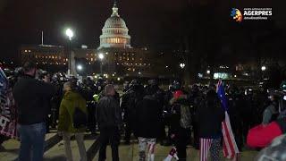 Asalt asupra Capitoliului: 6.200 de membri ai Gărzii Naţionale, desfăşuraţi pentru 30 de zile în Washington DC