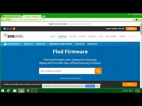 Firmware Combination, Full Rom, bypass FRP Samsung Galaxy A705 (SM