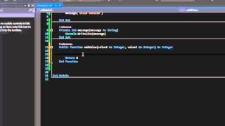 VB.NET : Functions vs Procedure