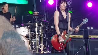 Joan Jett & The Blackhearts. Real Wild Child.  Red Hot Summer Tour 20.1.2019 Mornington.
