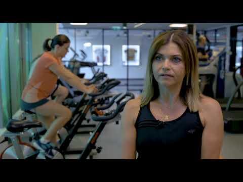 Sekwencja z grupy treningu mięśni w dniu treningu