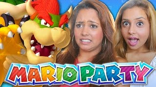 MY SISTERS PLAY MARIO PARTY 10! (Mario Party 10)