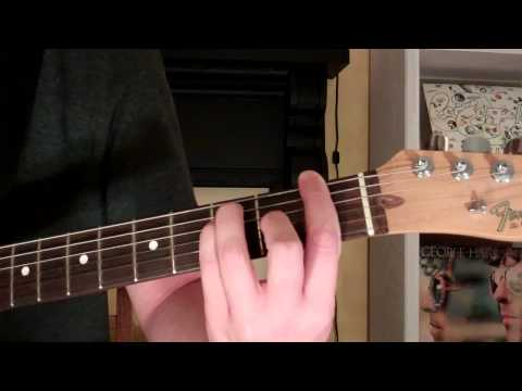 Easy way to play the F Major chord on Guitar
