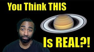 NASA Insults Your Intelligence With New Image Of Saturn