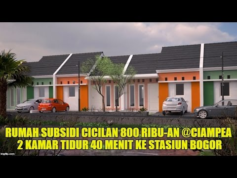 Video Rumah Subsidi di Bogor Cicilan 800 Ribuan 40 menit ke Stasiun Bogor