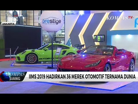 IIMS 2019 Hadirkan 36 Merek Otomotif Ternama Dunia
