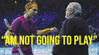 3 Times the Umpire Made Nadal SO ANGRY He Destroyed His Opponent
