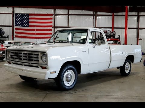Video of 1974 Dodge D100 - $13,900.00 Offered by GR Auto Gallery - Q8LY