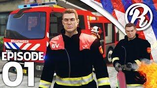[GTA5] BRANDEN BLUSSEN MET DE BRANDWEER!! - Royalistiq | Multiplayer Brandweer Mod #1