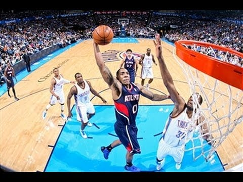 Jeff Teague Dunks Over Kevin Durant American Beau