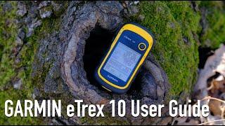 GARMIN eTrex 10 GPS User Guide