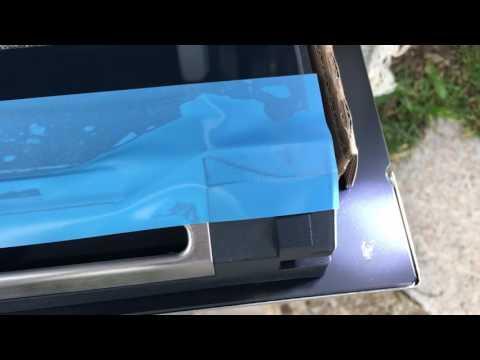 Backofen mangelhafte Qualität Siemens HB674GBS1 Unpacking