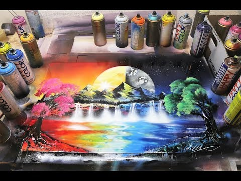 spray painting art by skech art