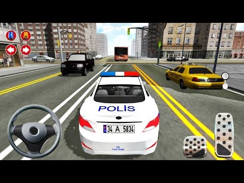 City Police Car Driving Simulator 3D - Police Patrolling - Android Gameplay FHD