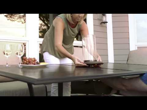 Intrigue Table Top Fire Assembly - The Outdoor GreatRoom Company