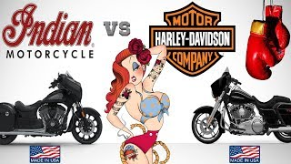 Indian Motorcycles Vs Harley Davidson Motorcycles