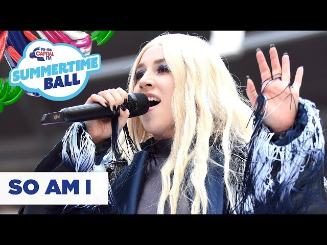 Ava Max - 'So Am I'   Live at Capital's Summertime Ball 2019
