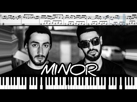 Miyagi & Andy Panda - Minor (на пианино + ноты)
