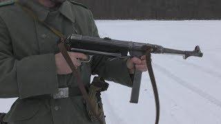 Обзор и стрельба из СХП МП-38 1940 / Blank firing MP-38 1940. Review and shooting